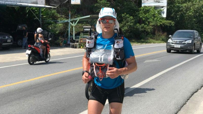 Ekstreemsportlane Joel Juht jookseb Tais madudega võidu