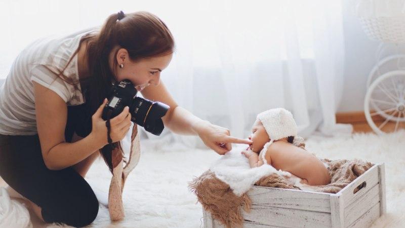 Beebifotograaf Teesi Zeemann: kõige kauem olen üht titat pildistanud seitse tundi järjest