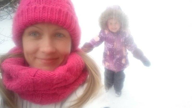 Inga Lunge käis tütrega talvemõnusid nautimas!