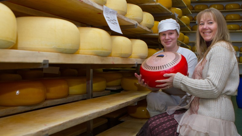 Eesti juustumeistrite perefirma vallutab Euroopa turgu