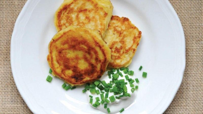 Kõrvitsapannkoogid juustuga