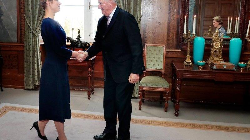 FOTOD | President Kaljulaid kohtus Norra kuningapaariga