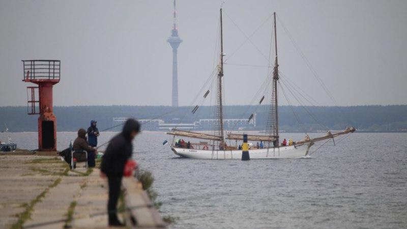 GALERII JA VIDEO | Purjelaev Hoppet jõudis üle mitme aasta koju tagasi