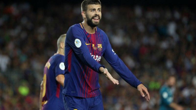 Katalaan Gerard Pique: kui Hispaania jalgpalliliit arvab, et ma olen probleem, siis lõpetan koondisekarjääri