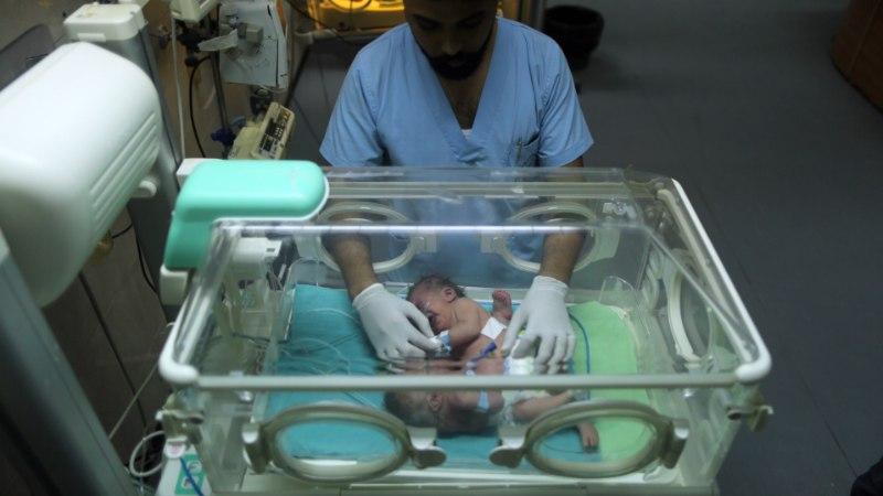 Gazas sündinud Siiami kaksikute elu on ohus