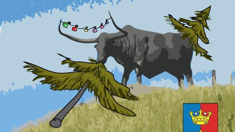 Karikatuur | Hea lugeja, vaata sinagi Rakvere jõulupuud!