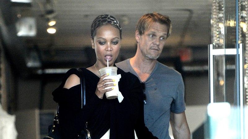 Leht: Tyra Banks läks oma pisipoja isast lahku