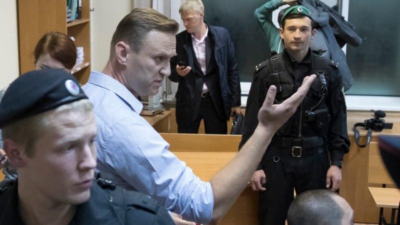 FOTOD   Aleksei Navalnõi mõisteti 20 päevaks vangi