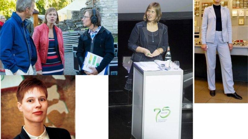 TÄNA AASTA TAGASI valiti Kersti Kaljulaid Eesti ajaloo esimeseks naispresidendiks!
