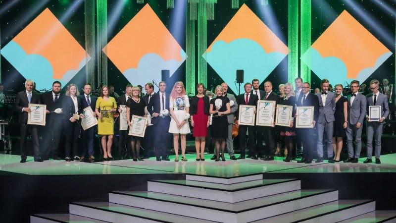 FOTOD   Pidulikul galal auhinnati Eesti silmapaistvamaid ettevõtteid