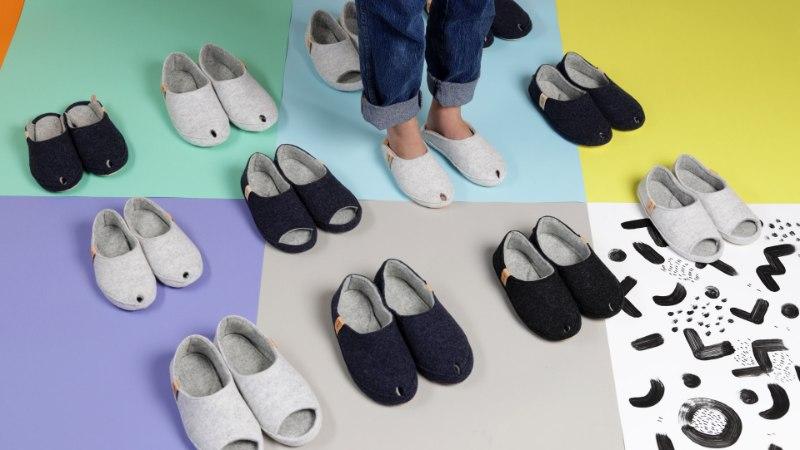 FOTOD | Turule jõuavad eestimaise kingabrändi käsitööna valminud soojad sussid