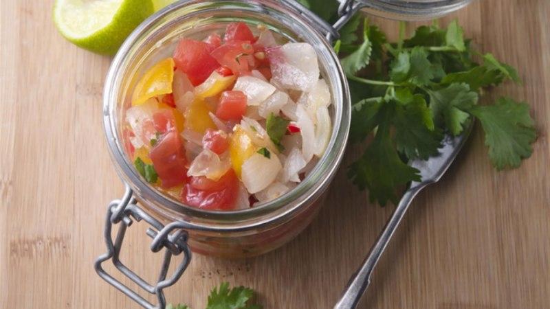 Röstitud sibula salsa