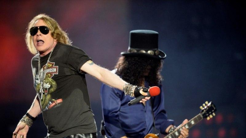 Guns N' Roses'i Tallinna suurkontserdi tulu võiks ületada 4,4 miljonit