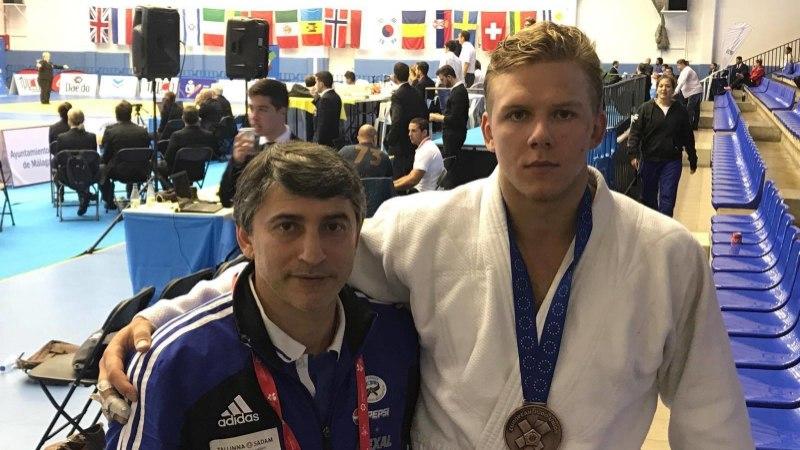 Klen Kaljulaid: presidendi sugulasest judofriik, kel silma ees ainult kirkaim medal