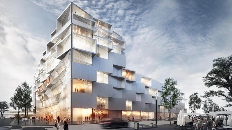 Kaubamaja arhitektuurikonkursi võitja on selgunud