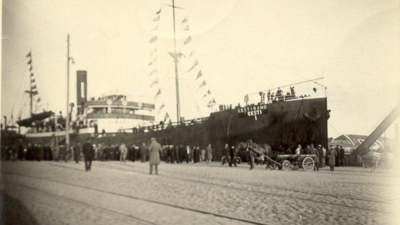 Eesti suurima laeva hukust pääsenud vallutasid Prangli