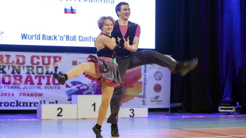 VIDEO | Putini noorem tütar tegeleb rock'n'roll-akrobaatikaga