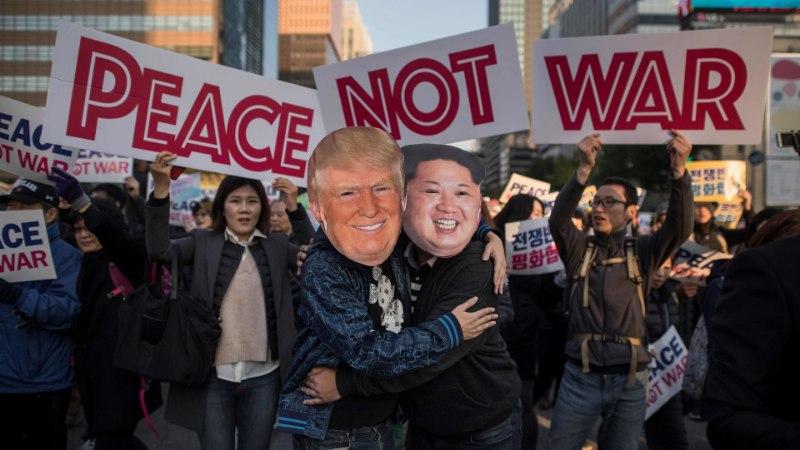 Donald Trump: olen valmis Kim Jong-uniga kohtuma