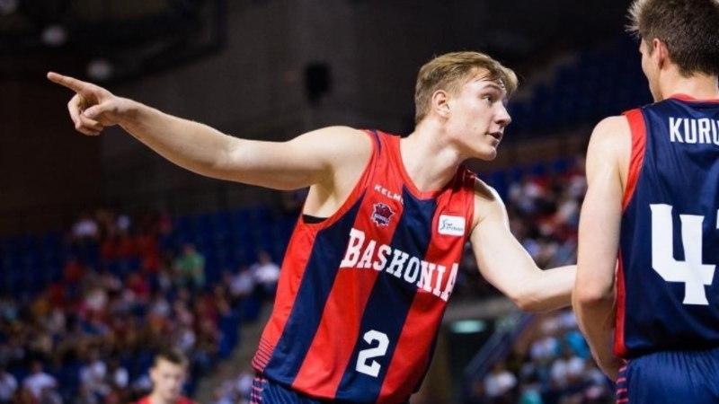 Sander Raieste madistas Baskonia duubelmeeskonna eest