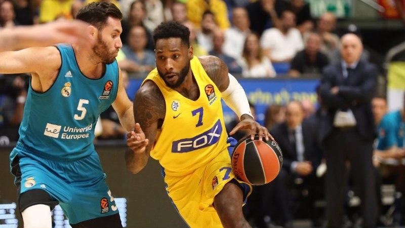 Maccabi kinkis Madridi Realile teise järjestikuse kaotuse