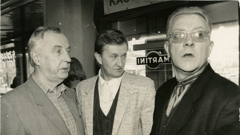 Suri näitleja Hans Kaldoja