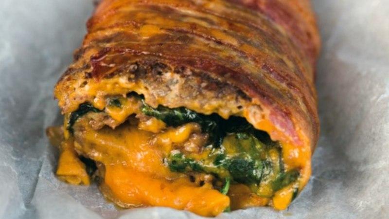 Õhtusöögiidee: liharull spinati ja juustuga
