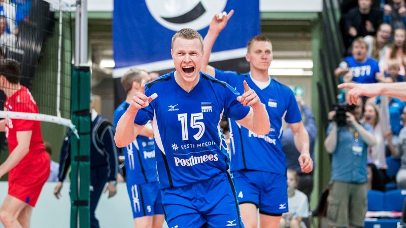 Meeste ja naiste võrkpallikoondised osalevad uuenenud Euroopa liigas