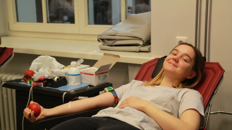 Tartu ülikooli loodusteaduste tudengid annetasid 21,6 liitrit verd