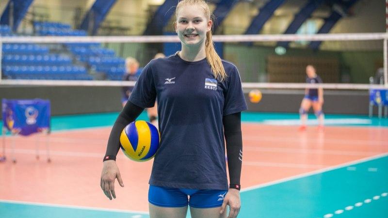 VÄGEV! Eesti paremaid naisvõrkpallureid tegi eurosarjas hea mängu