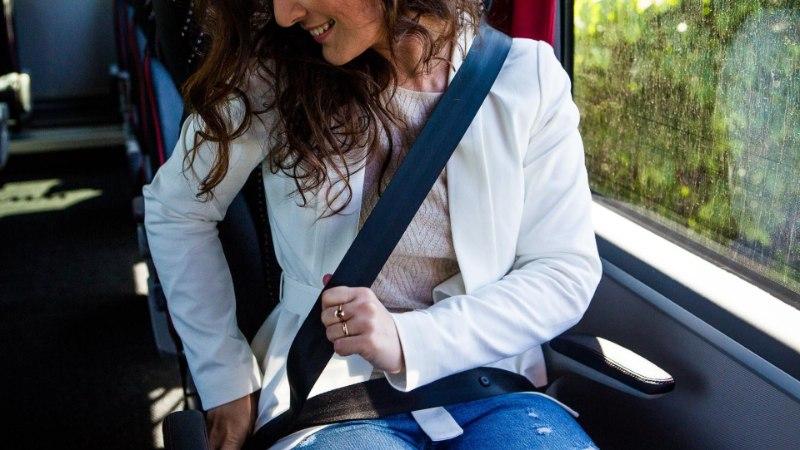 Bussis turvavöö kasutajate hulk kasvab visalt