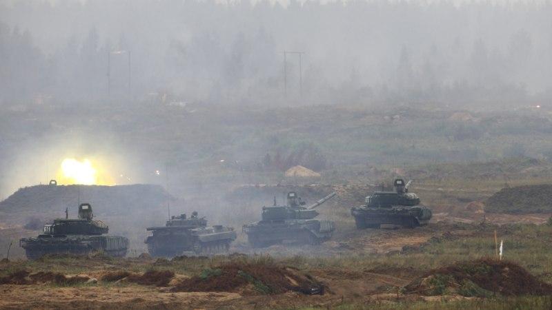 BILD: Venemaa harjutas Zapadil Balti riikide kiiret vallutamist