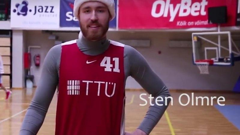 VIDEO   Jõulupühade hitihoiatus! Šarmantsed TTÜ korvpallurid lõõritasid kogu südamest aegumatut jõuluhümni