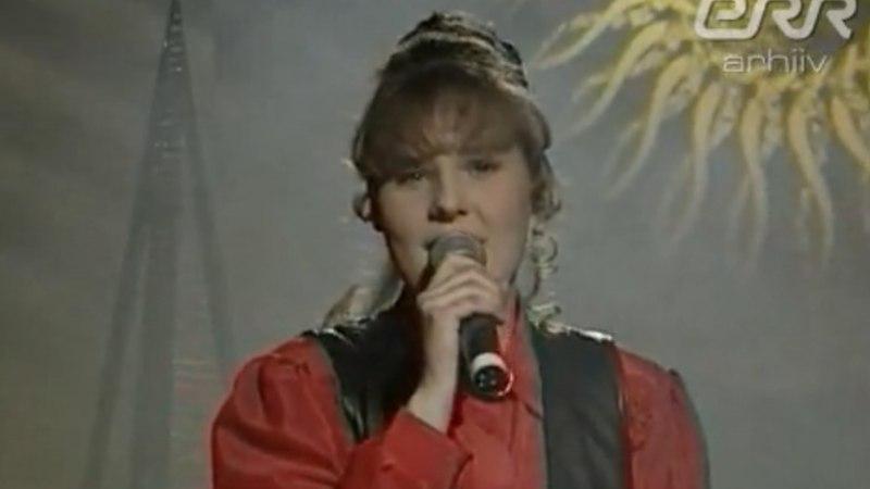 VAATA RARITEETSET VIDEOT: Selline nägi Sünne Valtri välja 20 aastat tagasi!