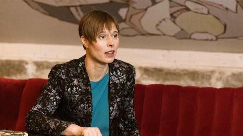 President Kaljulaid lubas kantseleiga kuuks ajaks Narva kolida