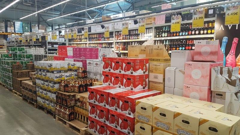 Õllemüügi osakaal Läti piiril lööb rekordeid ja suurendas joomist