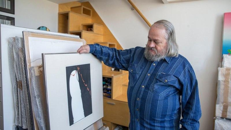 VIDEO | Leonhard Lapin: minu teoseid ei ole vaja lahti mõistatada