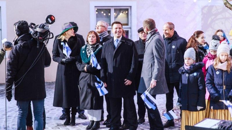 GALERII | Soome 100. sünnipäev rüütas Eesti vennasriigi lipuvärvidesse