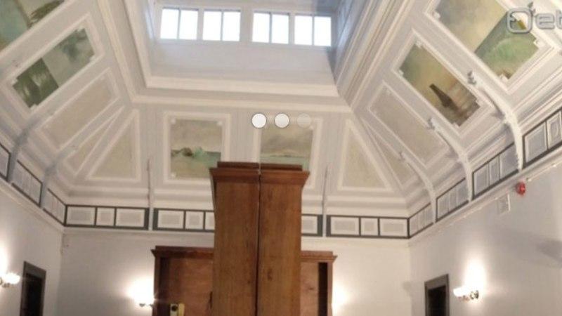 Kunstiakadeemia tudengid restaureerisid Haapsalu raudteejaamas kaheksa laemaali