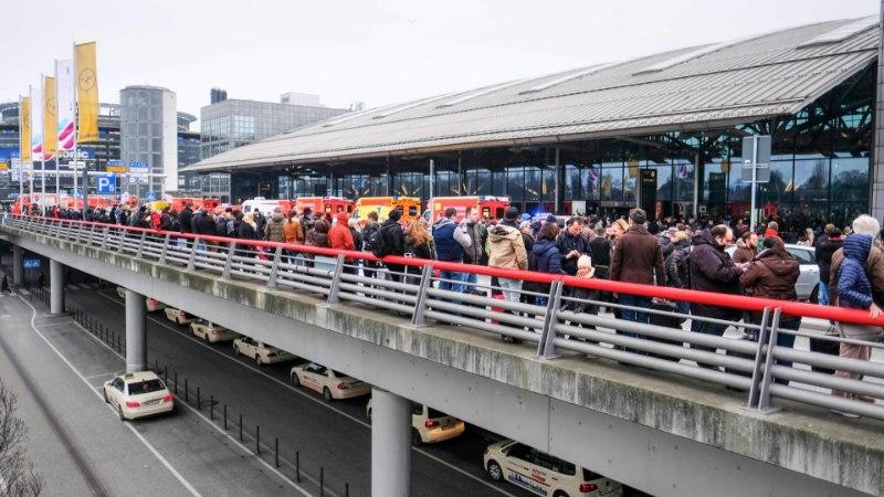 Lennujaam tühjendati, kui kümneid inimesi tabas salapärane tervisehäire