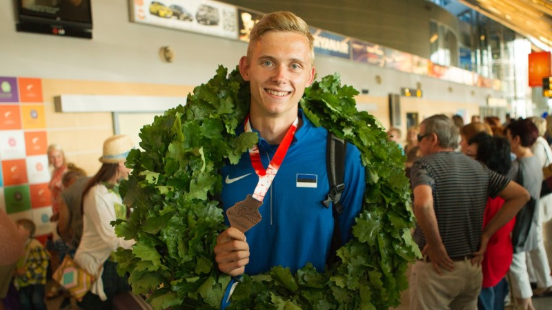 Mehemürakas Johannes Erm ronib koduste konkurentide toel mitmevõistluse maailma tipu suunas
