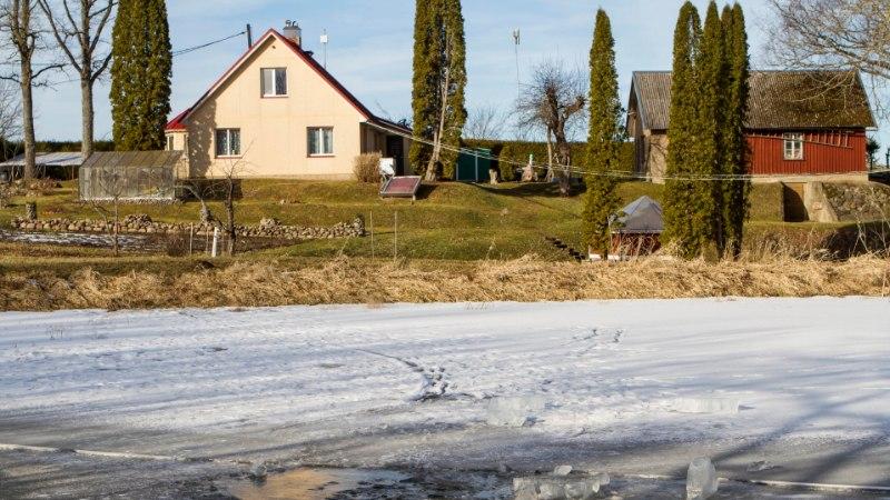 Kodujärve uppunud külamees saeti paksust jääst välja kolm päeva hiljem