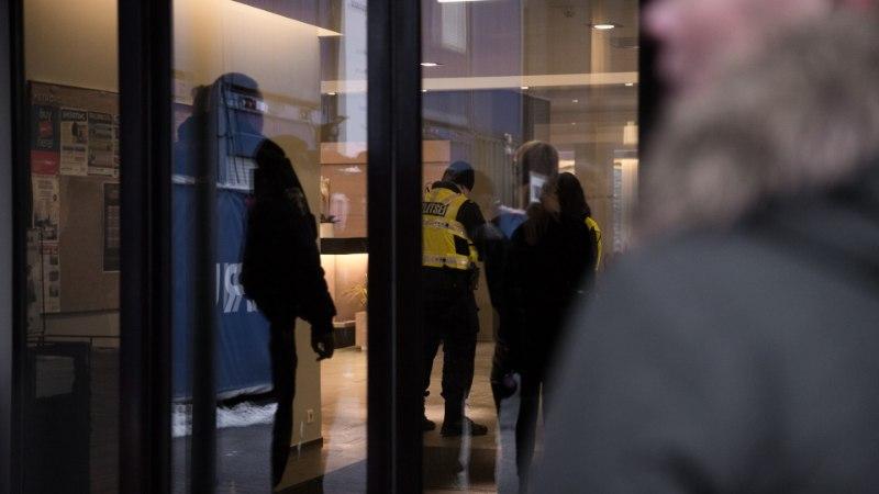 FOTOD SÜNDMUSKOHALT | Tallinnas Rotermanni kvartalis tulistati inimest