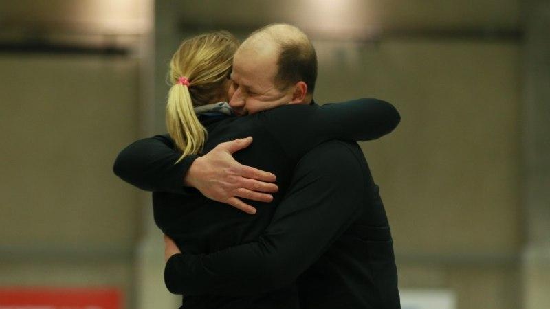 Isa võttis pojalt revanši - Maile Mölder ja Erkki Lill krooniti segapaarismängus curlingumeistriks
