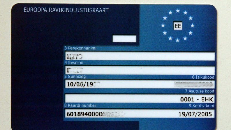 Euroopa ravikindlustuskaart on välismaal tekkinud terviserikke korral kasulik abimees