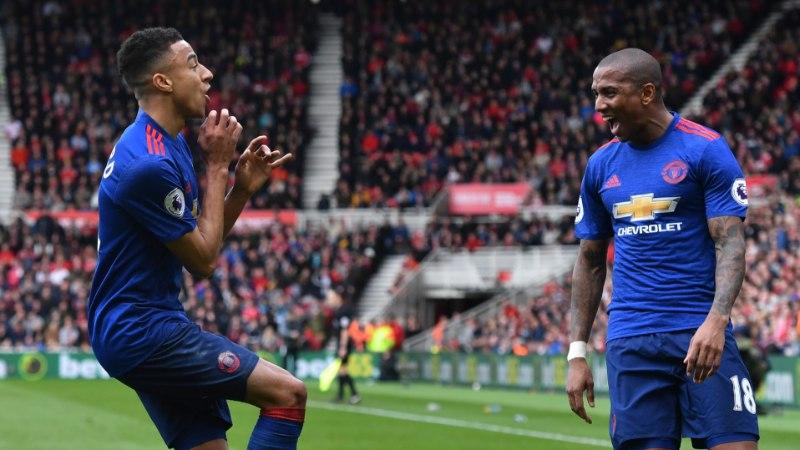 VIDEO | Manchester Unitedi poolkaitsja imeline värav pikendas meeskonna võimsat seeriat veelgi