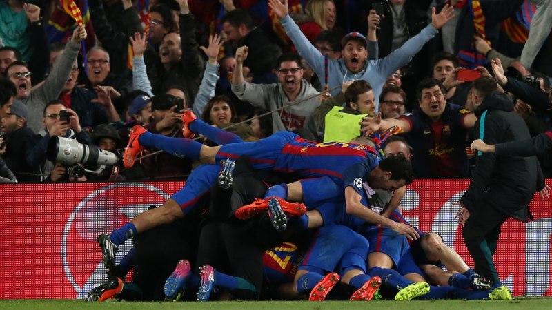 VÕIMAS! Barcelona ajalooline värav tegi Twitteri peaaegu katki - ühes minutis avaldati rohkem kui 130 tuhat säutsu