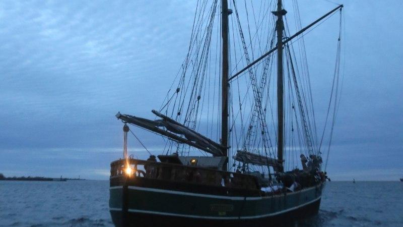 Purjelaev Kajsamoor lahkus jäädavalt Eestist