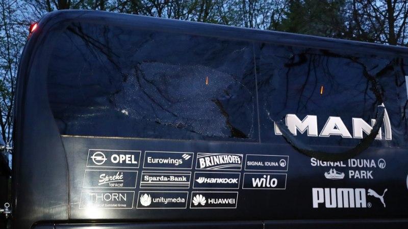 OI-OI: Dortmundi Borussia bussi lähedal toimus Meistrite liiga lahingu eel 3 plahvatust, Dortmundi keskkaitsja sai plahvatustes viga!