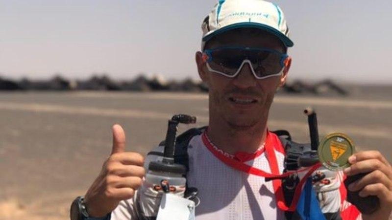 Kõrbemaratoni läbinud tantsija Joel Juht: viimased 20 kilomeetrit tundus, et lõppu ei tulegi!