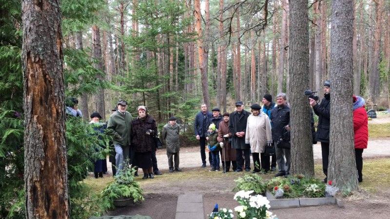 Näitleja Lembit Antoni auks paigaldati mälestuspink
